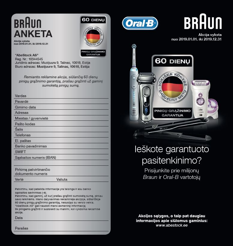 Braun Oral B anketa
